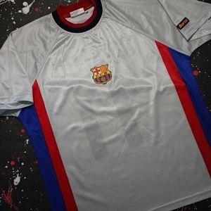 Rivaldo vintage 90s FC Barcelona soccer jersey
